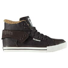 BRITISH KNIGHTS ROCO HIGH TOPS Trainers Sneakers Mens UK 11 EU45 Brown R181-10