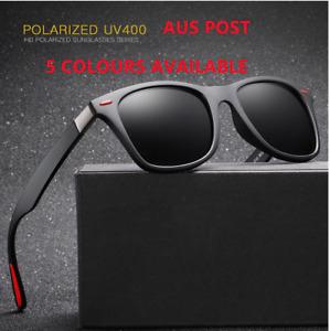 AU Men Polarized UV400 Sunglasses Glasses Sports Driving Fishing Eyewear 6 color