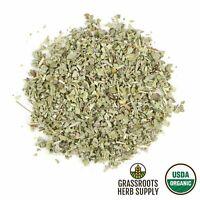 Organic Sage Leaf, c/s (Salvia officinalis)