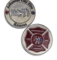 Fire EMS Department Arkansas Challenge Coin