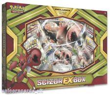 Pokemon TCG: Scizor EX Box :: 4 Booster Packs + Scizor-EX Promo Card :: Brand Ne