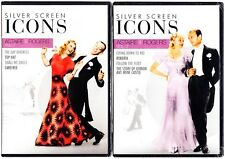 SILVER SCREEN ICONS FRED ASTAIRE & GINGER ROGERS 8 FILMS DVD 4 DISCS  REGION 1
