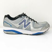 New Balance Mens 1540 V2 M1540SB2 Gray Silver Running Shoes Lace Up Size 10 4E