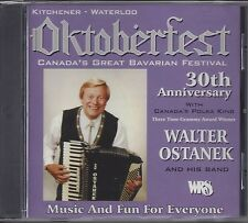 "WALTER OSTANEK  ""Oktoberfest - 30th Anniversary""  NEW SEALED POLKA CD"