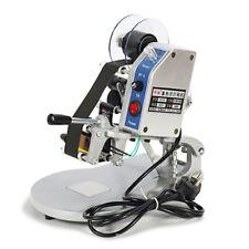 1pc Manual Hot Foil Stamping Printer Thermal Ribbon Code Printing Machine 220v
