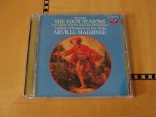 Vivaldi - The Four Seasons - Marriner - Gold Audiophile CD Japan