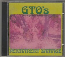 GTO's ‎– Permanent Damage CD