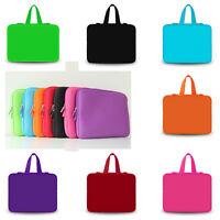 "New Plain Color Laptop Sleeve Case Bag Cover For 10"" 12"" 13"" 14"" 15"" 17""  Laptop"
