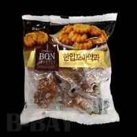 Sale 200g x 2 Pcs Lotte Korean Sweet Flower Shape Biscuit Yakgwa Wheat Flour