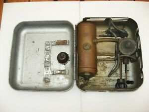 Alter Benzin- Gaskocher Campingkocher * Enders 9060 D * ca. 1960er