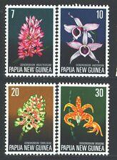 PAPUA NEW GUINEA 402-05 SG273-76 MNH 1974 Orchids set of 4 Cat$5