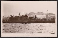 Cheshire - BIRKENHEAD,  Ferry Port -  Real Photo, used 1912