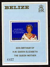 BELIZE QE II 1980 Queen Mother 80th Birthday Mini-Sheet SG MS593 MNH