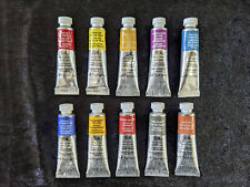 Winsor and Newton Professional Watercolour artists paint 10x5ml series 4,3,2,1.