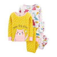 Carter's Baby Girls Size 24 Months Pajama Set 4-Piece Polka Dot NWT $36 Retail
