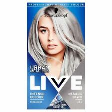 Schwarzkopf LIVE Colour Urban Metallics U71 Metallic Silver Hair Dye