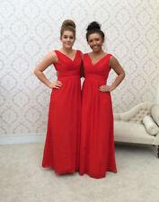 Chiffon Short Sleeve & Formal Dresses for Bridesmaids
