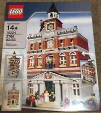 LEGO 10224 Creator TOWN HALL Modular Building Set New Sealed Retired