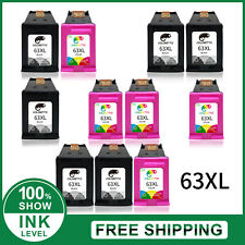 63XL Printer Ink Cartridge For HP Officejet Envy 5255 5258 3830 4650 3831 4650