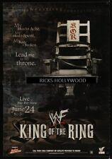 Original 2000 WWF KING OF THE RING Kane TRIPLE H Big Show UNDERTAKER Rock AUSTIN