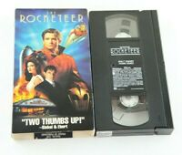 The Rocketeer VHS Disney Bill Campbell Jennifer Connelly Timothy Dalton