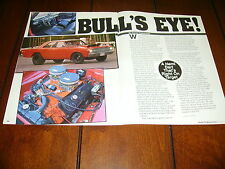 1968 DODGE HEMI DART - MUSCLE CAR  ***ORIGINAL 1991 ARTICLE***