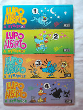 FUMETTO LUPO ALBERTO A STRISCE N. 1 2 3 4 SILVER ACME 1991 LOTTO
