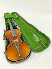 Alte Geige / Violine 4/4 mit Koffer - 4/4 Größe - Vintage