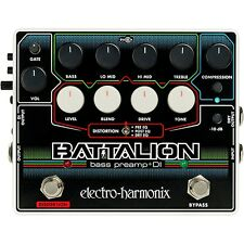 Electro-Harmonix EHX Battalion Bass Guitar Preamp and DI Effects Pedal