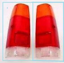 ISUZU KB26 KB41 2WD 4WD UTE MODEL 1983 87 REAR LIGHTS TAIL LAMPS LENS PAIR L R