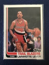 """Lafayette """"Fat"""" Lever BLAZERS 1982 RC  1993 Topps Archives #27  NM-MT"""