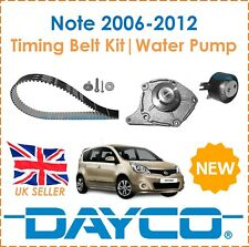 For Nissan Note 1.5dCi 2006-2012 Dayco Timing Belt Kit & Water Pump OE Spec New