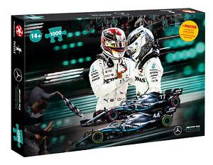 1000 Pieces Puzzle Mercedes AMG Petronas Motorsport Memorabilia Car Formel1