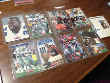 EMMITT SMITH 1993 CLASSIC FOOTBALL CARDS A SET OF 9 CARDS