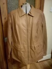 Dennis Basso faux leather jacket size Small NEW