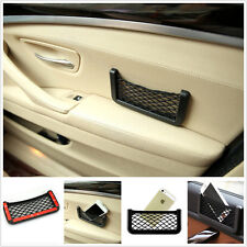 Car Seat Side Back Mesh Interior Storage Net Bag Pocket iPhone Gadget Holder