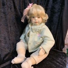 """Winds of Time Doll - Baby Misty 30"""" fabric toddler doll"""