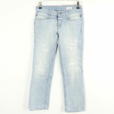 CLOSED Jeans Tube used-look denim bleu clair T. w26 (a34)