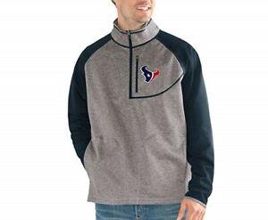 G-III Sports New England Patriots Men's Mountain Trail Half Zip Pullover Jacket