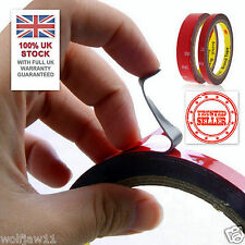 UK STOCK 3M™ 20mm/3m Auto Car Acrylic Foam Double Sided Attachment Adhesive Tape