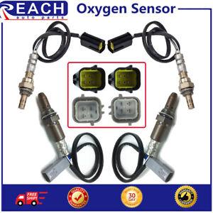4pcs Up&Down Oxygen O2 Sensor For 2009-2010 Infiniti G37 3.7L 2009-2010 M35 3.5L