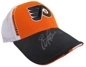 Eric Lindros Autographed Philadelphia Flyers NHL Reebok Hat - Panini (1)