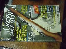 2µ? Revue Gazette des Armes n°302 Carabine allemandes Mannlicher 1901 U.D.42