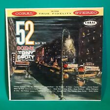 Tony Scott And The All Stars 52nd St. Scene LP Coral CRL 757239 Stereo VG+