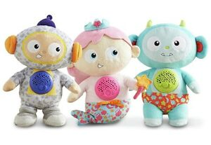 Story Stars Soft Interactive Toy Read Stories Play Messages Night Light doll