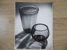 VINTAGE B & W PRINT GLASSES - CAFE - LARGE FORMAT