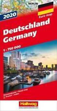 Deutschland 2020 Straßenkarte