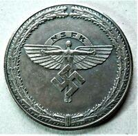 WW2 GERMAN COMMEMORATIVE COLLECTORS REICHSMARK COIN H.G. '42
