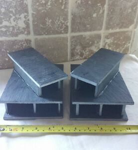 2 x Natural slate Breeding cave for bristlenose, pleco L numbers
