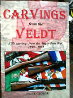 History Rifle Carvings from the Veldt Boer War NEW Book Vol 1 weapons relics